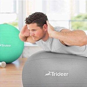 $15.29闪购:Trideer 家庭健身必备瑜伽球 多色可选