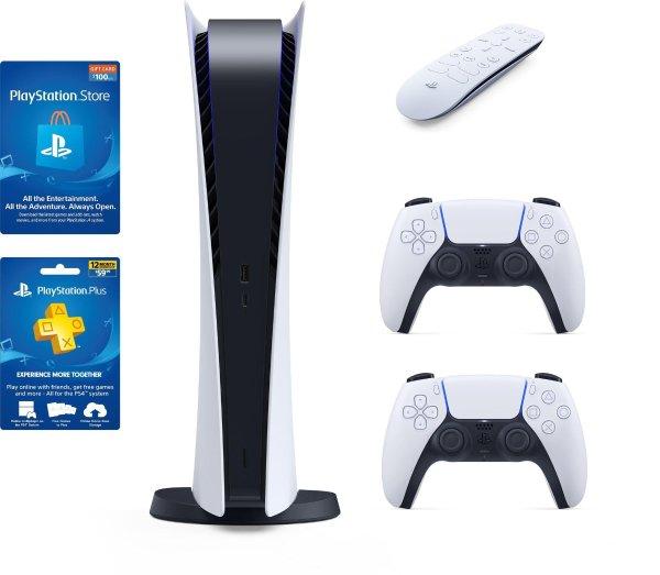 PlayStation 5 无光驱版 套装