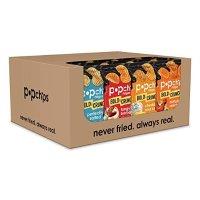 Popchips Ridged 薯片综合口味 0.8 oz 24包