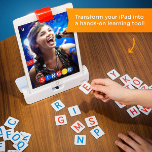 $65(原价$129.99)史低价:Osmo Genius 儿童益智游戏套装 iPad 版