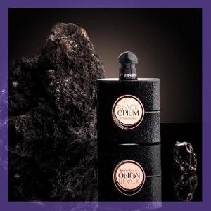 送黑鸦片蜡烛(价值$65)YSL Black Opium 黑鸦片香水热卖