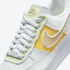 明早8点发售 定价€119.99预告:Nike Air Force 1「撕撕乐」可玩的运动鞋 黄绿撞色小清新