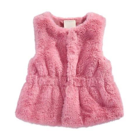 Toddler Girls Fur Vest, Created for Macy's