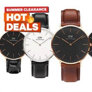 低至1折 收UGG、DW手表Groupon 手表、鞋履等物品夏季大促