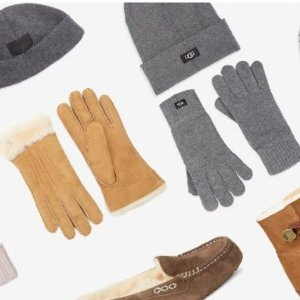 低至8折+额外5折 $27收羊毛手套限今天:UGG 冬季必备毛绒靴配饰 $169收毛绒雪地靴