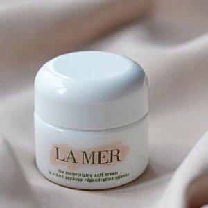 最高立减$160La Mer 护肤产品热卖  收Soft Cream、浓缩眼霜