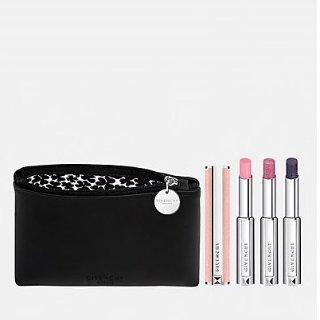 $111 +送礼上新:Givenchy 圣诞限量粉色小羊皮变色唇膏套装
