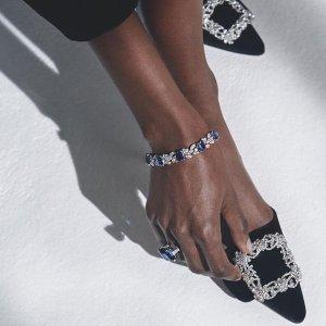 8.5折+部分用户返$120Manolo Blahnik 美鞋专场,收经典钻扣、新款穆勒鞋