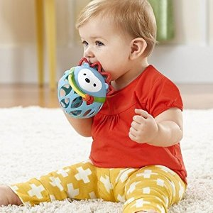 $6.74  (原价$10)Skip Hop 宝宝探索玩耍球,开发智利提升行动创造力