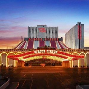 $19/天起Vegas.com 拉斯维加斯 马戏团赌场酒店