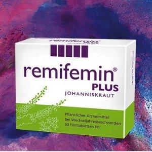 缓解各种更年期症状65折+折上9折 德国Remifemin Plus莉芙敏更年期片€11.58欧+5欧优惠