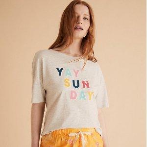 内裤买4免1 家居服7.5折起Marks & Spencer 家居服、内衣内裤超值好价 舒适宅家必需品