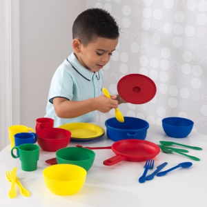 $6.88KidKraft 27件套厨房玩具套装