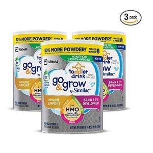 6.5折+额外9.5折+包邮Similac 婴幼儿非转基因配方奶粉特卖,低至$12.7一罐