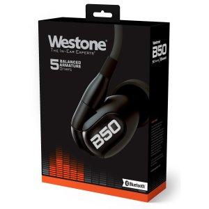 史低价:Westone B50 动铁耳机 附MMCX银线+ aptX蓝牙线