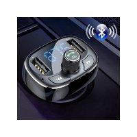 FM Transmitter Modulator Bluetooth Handsfree 车载充电器