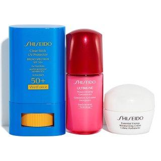 $28+送3重好礼Shiseido 果冻防晒棒护肤套装 粉丝晒货好评