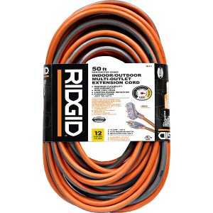 $24.88RIDGID 50 英尺长室外用电源延长线