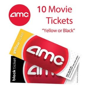 Up to $12.5 offAMC 10-pack/4-pack Movie Tickets