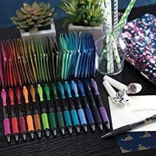 $2.74Pilot G2 紫色凝胶圆珠笔 2支