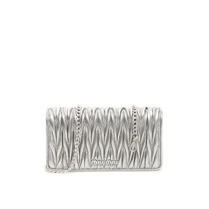 Miu MiuMATELASSe MINI BAG WITH CHAIN