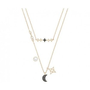 Swarovski买就送经典天鹅项链!鬼怪同款 星月项链
