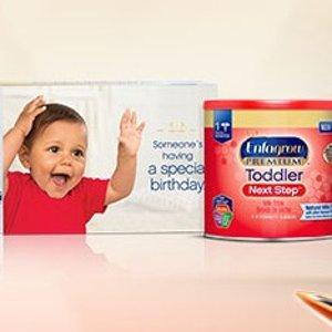 免费Enfagrow 美赞臣三段幼儿奶粉样品 10盎司