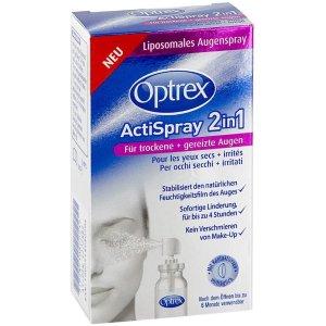仅€10.73 不会滴眼药水人救星Optrex 爱滴氏 可以闭眼喷的眼药水 1秒缓解干眼 眼睛会放电