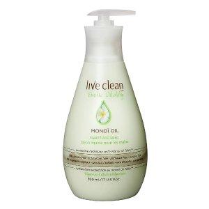 Live Clean 洗手液500 mL Monoi Oil