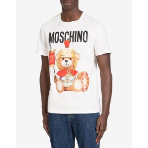 Roman Teddy Bear Jersey t-shirt - Roman Teddy Bear - FW19 COLLECTION - Moods - Moschino | Moschino Shop Online