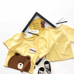 布朗熊T恤