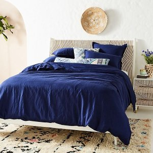 Relaxed Cotton-Linen Duvet Cover