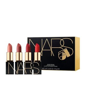 NARS任意单3倍积分Bloomingdale's NARS Never Enough 迷你唇膏4件套Mini Lipstick Gift Set | Bloomingdale's