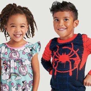 买一件第二件半价迪士尼官网 新款儿童睡衣优惠,更有套装可选