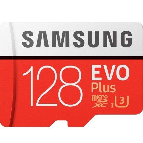 $19(原价$32)Samsung Micro SDXC 128GB EVO Plus 存储卡