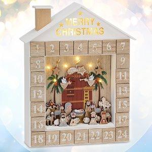 可重复使用 仅€29.99 原价€39.99Brubaker 绝美DIY圣诞日历 创造属于你的独一份日历