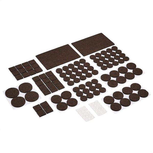 Amazon Basics 毛毡家具脚垫地板保护垫 136片