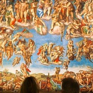 2人仅需$21 近距离感觉大师作品洛杉矶米开朗基罗西斯廷教堂壁画展门票特卖