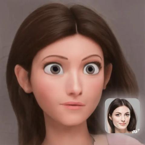 原来你就是迪士尼在逃公主ToonMe 卡通风格变脸app 打造属于自己的卡通头像