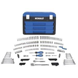 Kobalt 227件套工具组 带工具箱