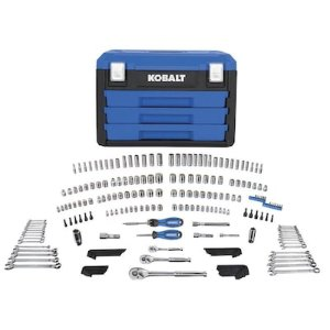 Kobalt 227-Piece Mechanic's Tool Set with Case