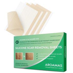 $21.99Aroamas Professional Silicone Scar Sheets 8 Sheets