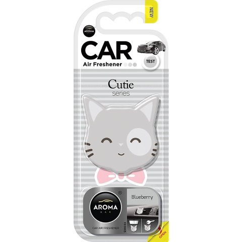 Aroma Car Cutie Series Blueberry Car Air Freshener - Chewy.com