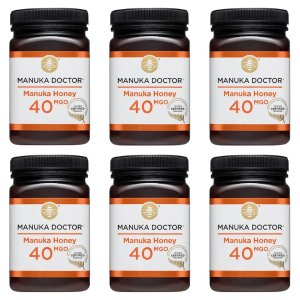 Manuka Doctor40 MGO 蜂蜜 500g  6罐装