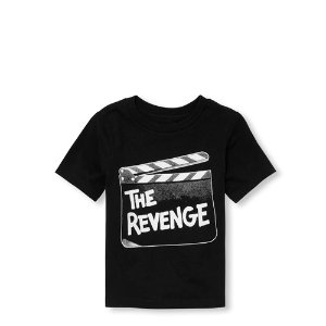 9e4575427 The Children's PlaceBaby And Toddler Boys Dad and Me Short Sleeve 'The  Revenge' Matching