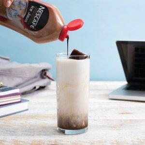 $3.77(原价$4.99) 可做31杯冰咖NESCAFÉ 奶油咖啡糖浆470ml 自制生椰拿铁 清爽冰咖拿铁