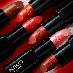 低至6.6折+满额再减$5Kiko Milano 全场唇部彩妆热卖 收黑管唇膏