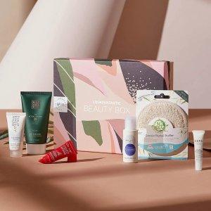 变相2.5折 每月低至€15.5Lookfantastic 六月美妆盒子 限量设计+环保包装 6件价值超€60
