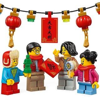 服飾、玩具啥都有吉慶紅火中國風,北美的孩子也過春節