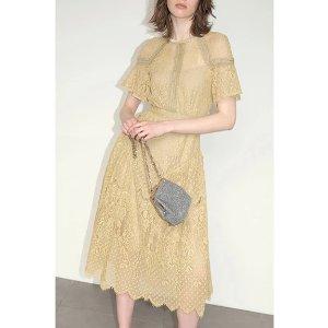 Snidel刺绣连衣裙